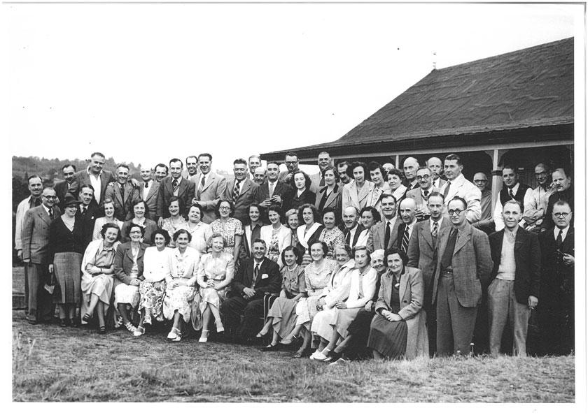 Early golf club members